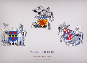 "Estampe ""Blasons de Berry"""
