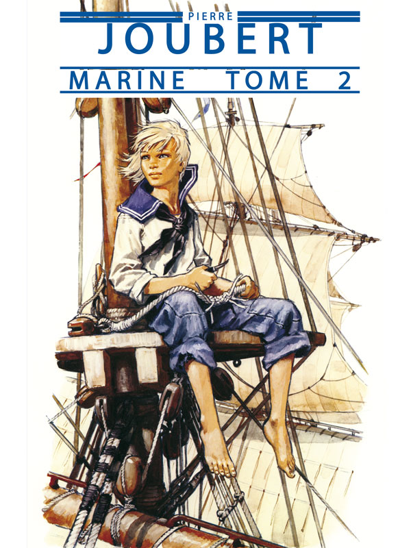 Lot Albums Tome 1 & 2 Marine - Edition luxe